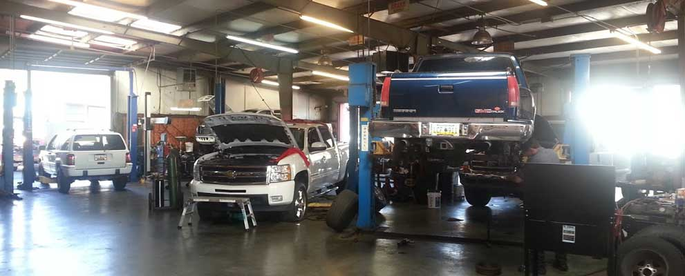Dart Automotive auto repair bays