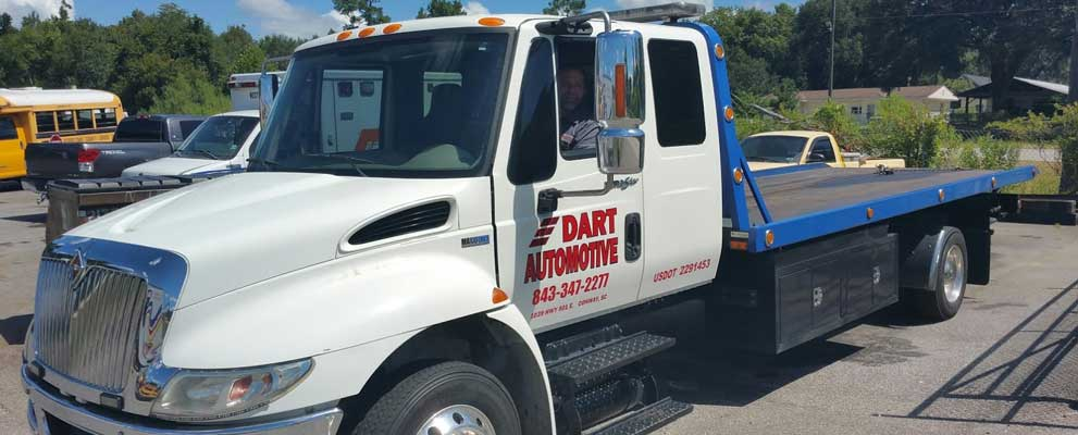Dart Automotive towing truck